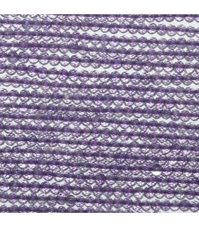 Amethyst Faceted Round Beads 2mm.-Strand 33cm.-Item.11046