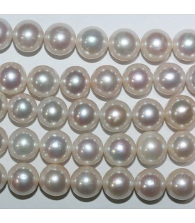 Freshwater Round Pearl 10-11mm.-Strand 40cm.-Item.11077
