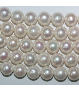 Freshwater Round Pearl 11-12mm.-Strand 40cm.-Item.11078