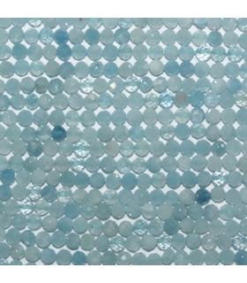 Aquamarine Faceted Round Beads 3mm.-Strand 39cm. -Item.11122