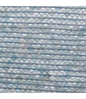 Aquamarine Faceted Round Beads 2-2.5mm.-Strand 39cm. -Item.11125