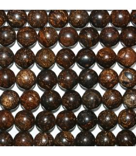 Broncita Round Beads 10mm..-Strand 39mm.-Item.11142