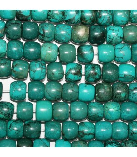 Natural Turquoise Smooth Rondelle 11x9mm.-Strand 41cm.-Item.11181