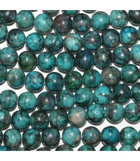 Blue Jasper Round Beads 8mm.-Strand 40cm.-Item. 11210