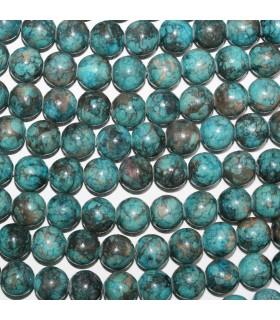 Blue Jasper Round Beads 10mm.-Strand 38cm.-Item. 11211