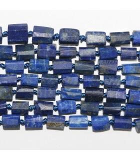Lapis Lazuli Tubo Facetado 8x6mm.- Aprox.Hilo 40cm- Ref.11212