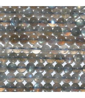 Labradorite Round Beads 7mm.-Strand 40cm.-Item.11235