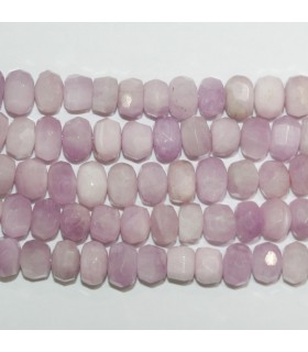 Kuncite Faceted Rondelle Beads 8x5mm.-Strand 40cm.-Item.11254
