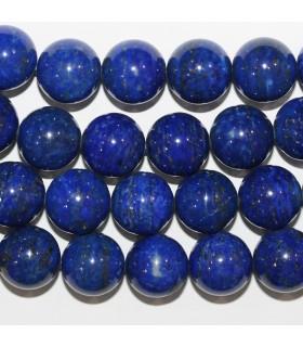 Lapis Lazuli Bola Lisa 12-13mm.-Hilo 40cm.-Ref.11255