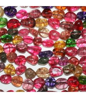 Mix Quartz Smooth Nugget Beads 12-15mm.Approx.-Strand 39cm.-Item.11273