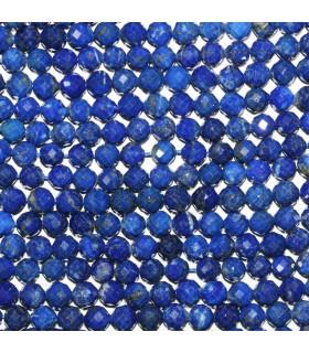 Lapis Lazuli Faceted Round Beads 5.5-6mm.-Strand 40cm.-Item.11428