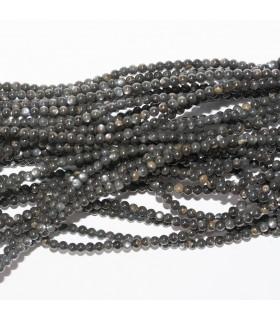 MOP Round Beads 2mm.-Strand 41cm.-Item 11454