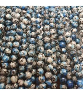 K2 Round Beads 6mm.-Strand 38cm.-Item.11476