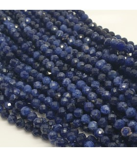 Sodalite Faceted Round Beads 6mm -Strand 39cm- Item.11474