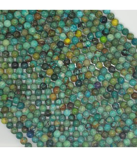 Turquoise Round Beads 6mm.-Strand 39cm.-Item 11469