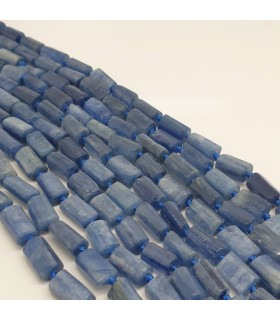 Cianite Faceted Cylinder 11x6mm -Strand 40cm- Item.11472