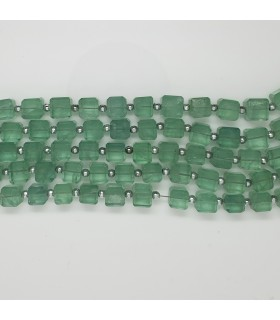 Fluorite Smooth Cube 7-8mm -Strand 20cm- Item. 11557