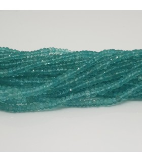 Apatite Faceted Rondelle 4x2mm.-Strand 36cm.-Item.11541