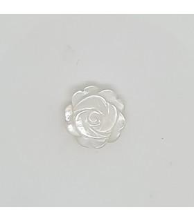 MOP Rose Pendant 10mm.- Item: 11679
