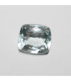 Aquamarine Rectangular Faceted 2ct 8.7x7,7mm .Ref 98PE