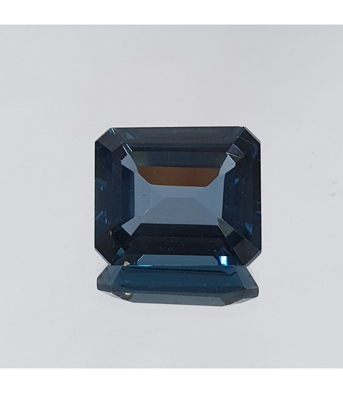 London Topaz Faceted Rectangular 12x10 mm.- Item: 200PE
