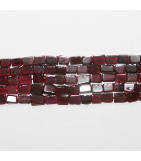 Garnet Smooth Prism 7x5mm.-Strand 38cm.- Item.11871