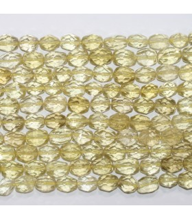 Lemon Quartz Faceted Nugget 15x10mm.Approx.-Strand 40cm.-Item.11709