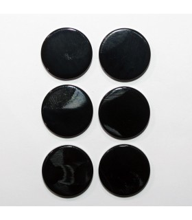 Onyx Smooth Disc 18mm. Thickness 3mm. (6 Pieces).- Item.1291CB