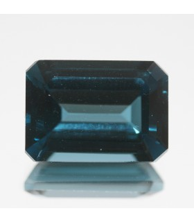 London Blue Topaz Faceted Octagonal 14x10mm. ( 9 CT ).- Item.71MG