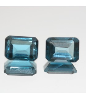 London Blue Topaz Faceted Octagonal 8x6mm.( 3.95ct)- Item.73MG