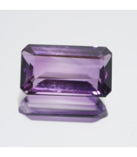 Amethyst Faceted Rectangular 20x11mm. (14.25 ct).- Item.94MG