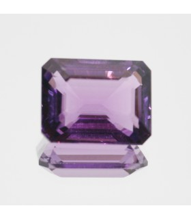 Amethyst Faceted Rectangular 20x15.5mm. (24.3 ct).- Item.96MG