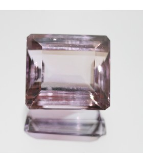 Amethyst Faceted Rectangular 24x20mm. (64.5ct).- Item.97MG