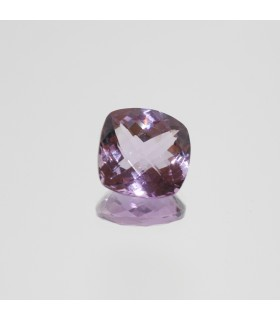 Amethyst Faceted Square 14.5mm. (10.4ct).- Item.98MG