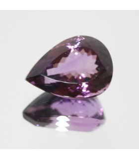 Amethyst Faceted Drop 25x18mm (34.45ct).-Item.104MG