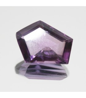 Amethyst Faceted Fancy 18x14mm.Aprox. ( 11 ct).-Item.104MG
