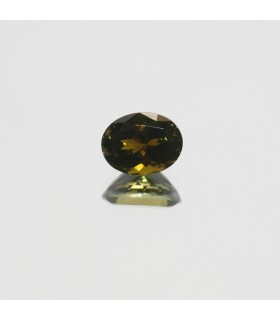 Green Turmaline Faceted Oval 9x7mm. (2.15ct.).- Item.151MG