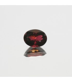Pink Turmaline Faceted Oval 9x7mm. (2.05ct.).- Item.152MG