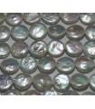 Moneta perla 13-14mm. -Filo 40cm.-Ref.4508