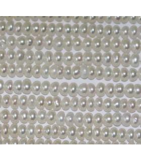 Perla Rodaja 3-4mm.-Hilo 40cm.-Ref.2971