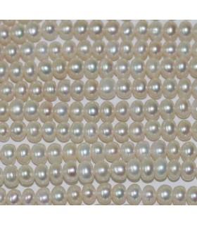 Perla Rodaja 7x5mm -Hilo 40cm- Ref.3002