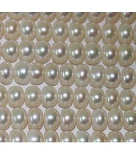 Perla Rodaja 8x5mm -Hilo 40cm- Ref.2969