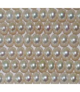 Perlas Rodaja 7-8x5mm -Hilo 40cm- Ref.2970