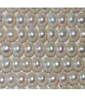 Perlas Rodaja 9-10x6mm -Hilo 40cm- Ref.2968