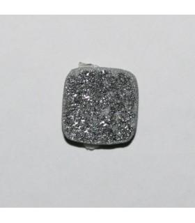 Cabujón Agata Druzzy Cuadrado ( 6 Piezas) 10mm.-Ref.439CB