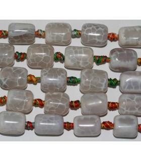 Agata Colores Barril 18x15mm.-Hilo 40cm.-Ref.4250