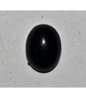 Cabujón Azabache Oval 10x14mm. 10 Unidades Ref.2767