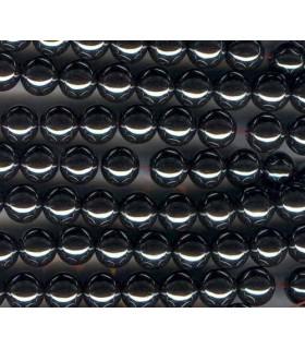 Hematite Bola Lisa 8mm -Hilo 40cm- Ref.2175