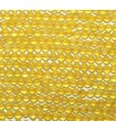 Boule Agate Jaune 2mm -String 40cm- Ref.3145