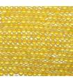 Gelber Achatball 2mm -String 40cm- Ref. 3145